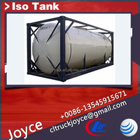 Iso tank container to store Aqua ammonia, hydrochloric acid,water treatment chemicals, sulphuric acid,etc.