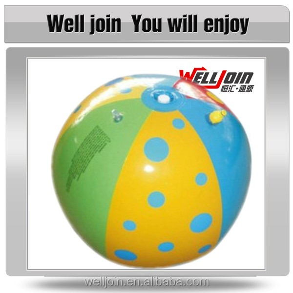 Full Color Printing Non-toxic PVC Toy Balls/Inflatable Beach Ball