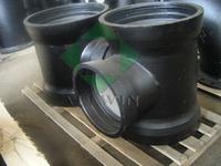 ISO2531 ductile iron all socke tee