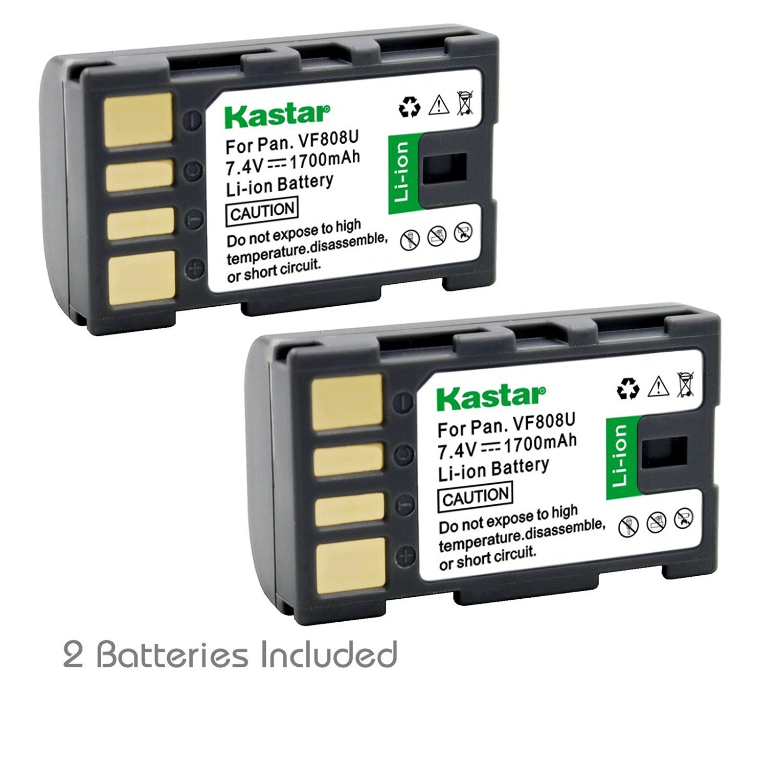 Cheap Jvc Universal Find Deals On Line At Alibabacom Wiring 0001 Car Harness Stereo Jv2x8 Get Quotations Kastar Bn Vf808 Battery 2 Pack For