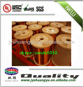 Enamelled round copper magnetic wire for electrical to mechanical