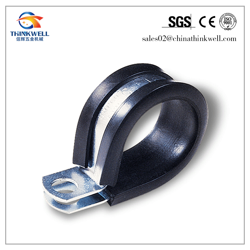 Alloy Steel Galvanized Wire Rope Cross Clamp With Rubber - Buy Wire ...