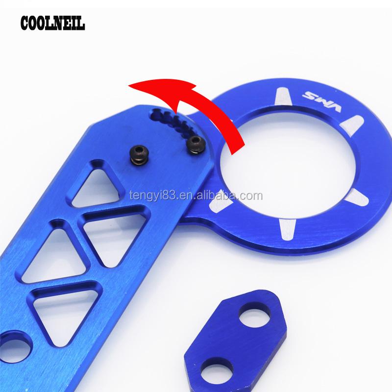 Front Rod Towing Hook Adjustable Split Rear Trailer Hook Modified Car Hook