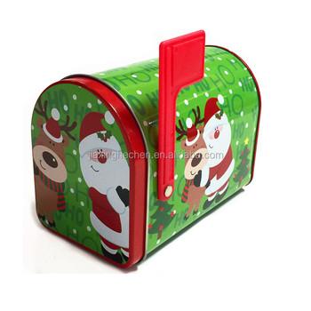 Christmas Mailbox.Christmas Mailbox Shaped Tin Box 95 X 75 X 130 Buy Christmas Cake Tin Box Gift Box In Mailbox Shape Candy Metal Box Product On Alibaba Com