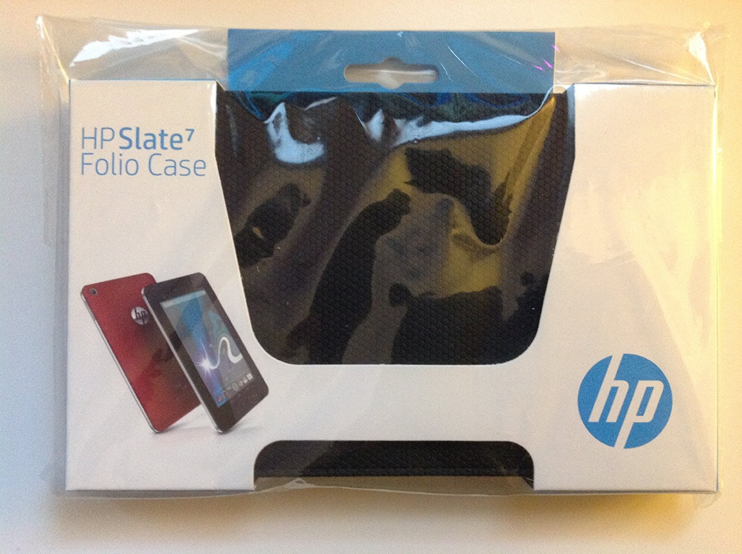 """Original HP Slate 7 Folio Black Case For HP Slate 7 Folio 7"""" Tablet Model Numbers: HP Slate 7 1800 7-Inch Tablet (white), E9S46AA#ABA, HP Slate 7 2800 7-Inch Tablet (Old Version), E0H92AA#ABA, HP Slate 7 2800 7-Inch Tablet, E4W57AT#ABA, 100% Compatible With HP Part Numbers: E2X68AA, 736704-001,"""