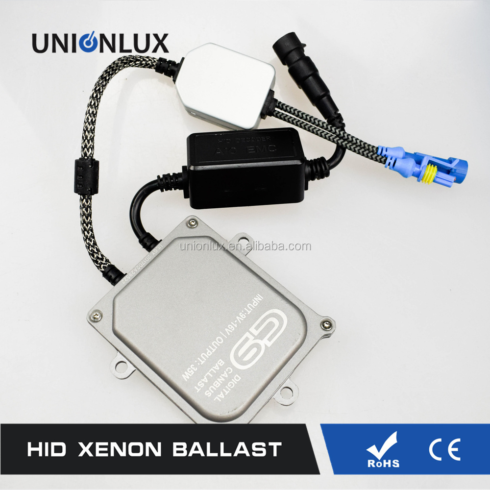 Unionlux Lighting Auto Hid Headlights Oem Canbus Ballast 35watt 55watt 23kv Kit 9006 Xenon Bulb