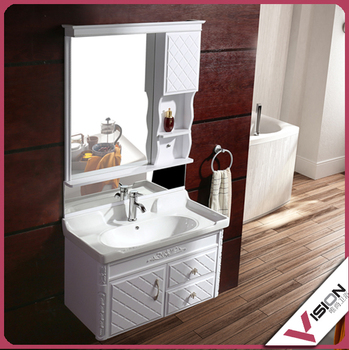 bathroom mirror cabinet with light white plastic bathroom