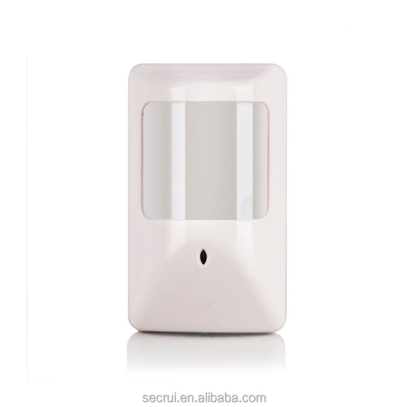 Wired pir motion sensor with relay output for burglar alarm system