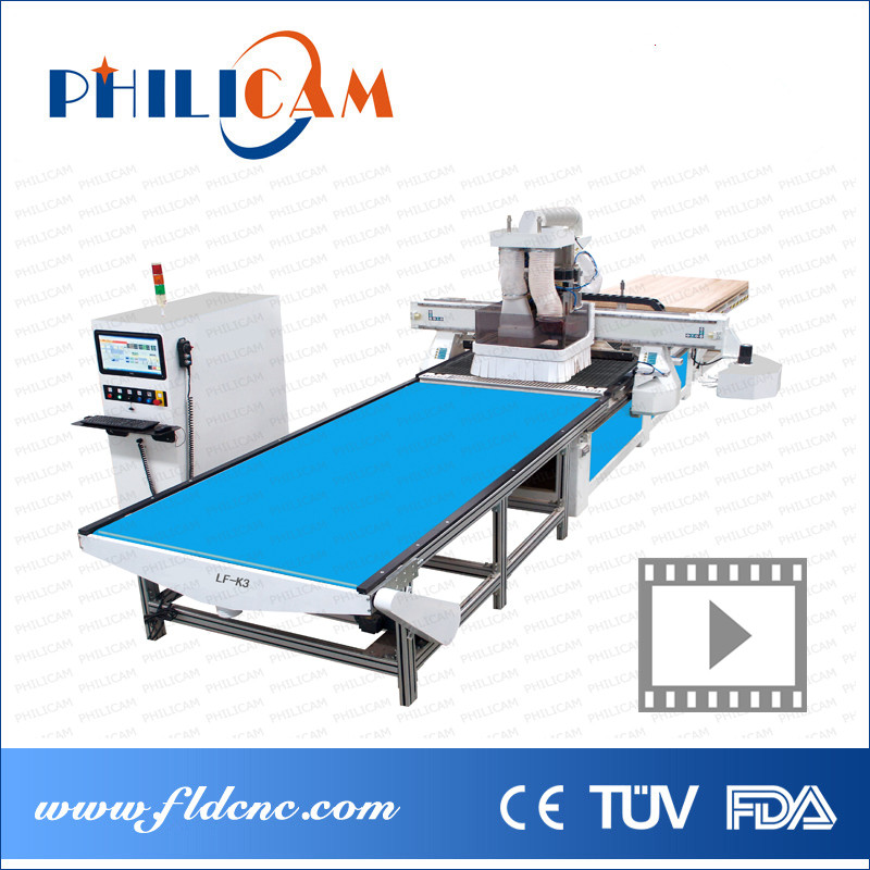 PHILICAM 1325 Wood Drilling Machine CNC Router