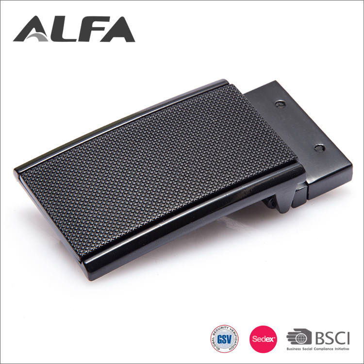 Alfa China Goods Wholesale Custom Printed Name Formal Men Plain Belt Buckles