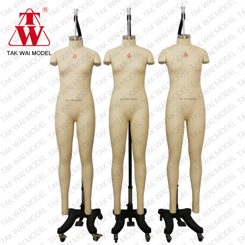 Top lady full body fiberglass asia Size m mannequin mold