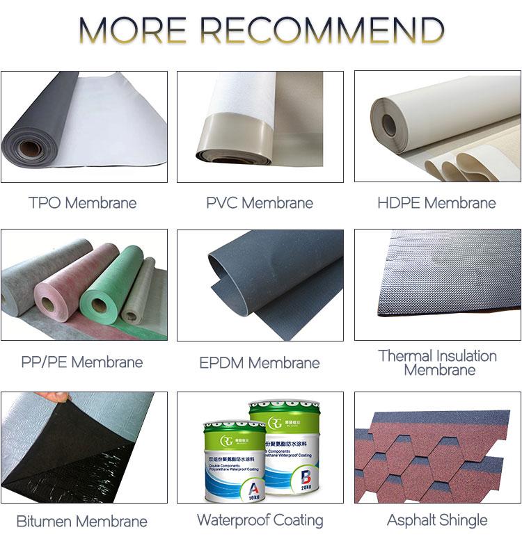 APP waterproof blanket membrane for bathroom floors