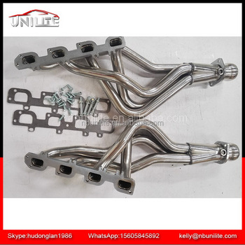 Ram 1500 Exhaust >> Stainless Steel Exhaust Manifold Header Untuk Dodge Ram 1500 2009 2015 Kinerja 5 7l Hemi Panjang Tabung Stainless Header Buy Stainless Steel Exhaust