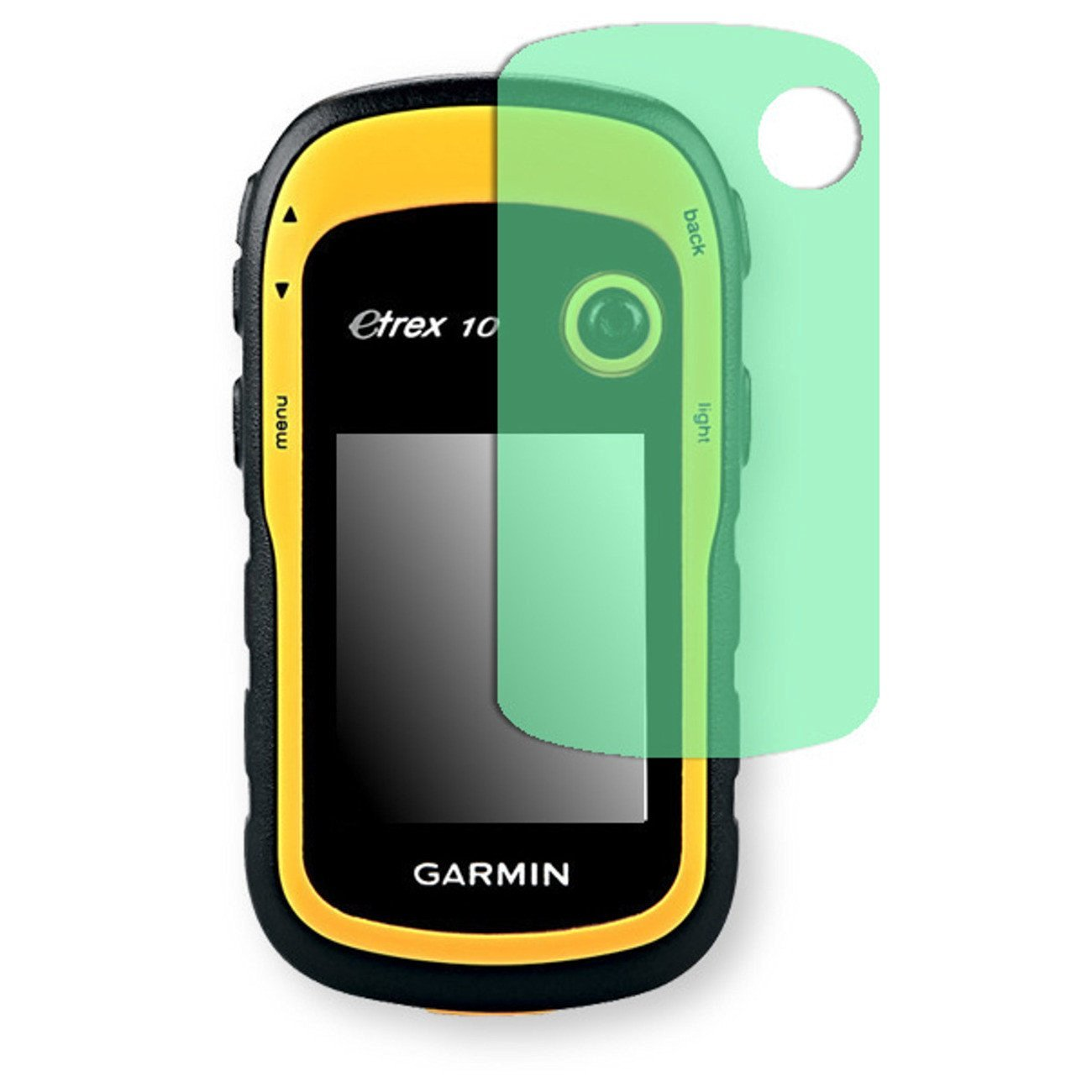 Golebo Screen Film for Privacy protection green for Garmin eTrex 10 - PREMIUM QUALITY