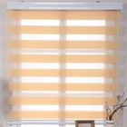 Factory Direct sale horizontal zebra roller shade blinds