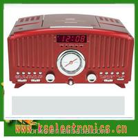 Retro CD Player with Alarm Clock Radio