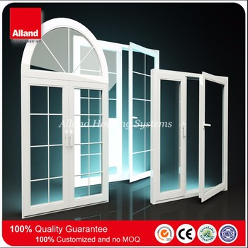 White Color Pvc Frame Impact Windows With Double Low E Tempered Glass - Buy  White Color Pvc Frame Impact Windows,Impact Windows With Triple Tempered