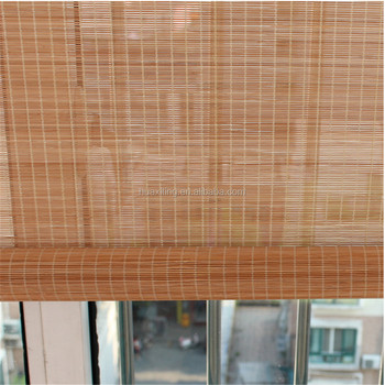 Stores en bambou en bambou extérieur rideau et tapis