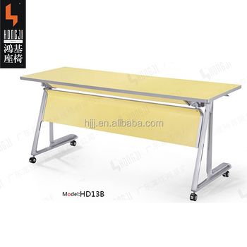 Folding Conference Table Desk Meeting Table Desk HDBV For - Collapsible conference table