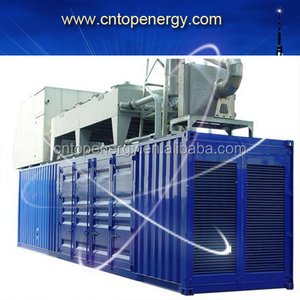 250kw water cooled natural gas/biogas/Biomass electric power gas generator with Grid parallel system