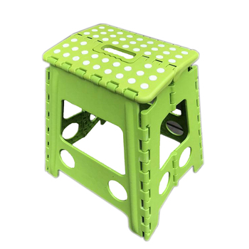 China Supplier Plastic Folding Stool Super Strong Foldable
