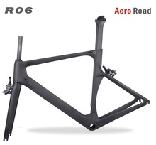 2017 <span class=keywords><strong>Aero</strong></span> licht Carbon Racefiets Frame Kits hoge kwaliteit <span class=keywords><strong>AERO</strong></span> Road frame/vork/zadelpen/headset