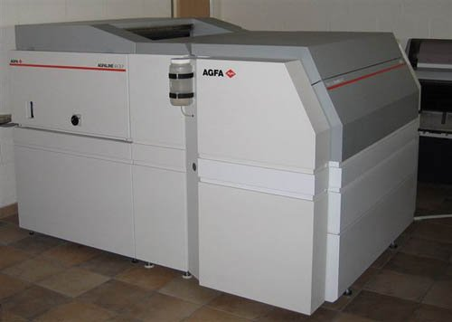 Agfa Avantra 44xt With Olp-36 / 44 On-Line Processor New Motor Printing Machinery