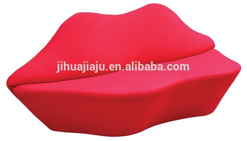 Lifestyle Living Room Furniture Bocca Red Lip Sofa