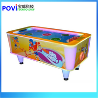 Fashion 2 person mini air hockey table for indoor game centre coin operated games