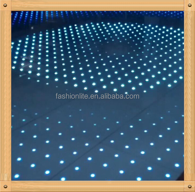 movable stage/club/disco led dance floor for wedding events