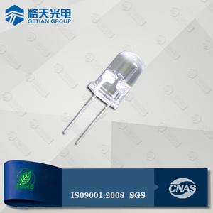 High Quality 2 Pins Through Hole 3mm 5mm 10mm 8mm Round Dip LED Diode 3V