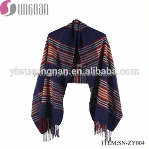 Scarves Poncho Double-Side In Stock Cashmere Women's Pashmina Shawls Scarf