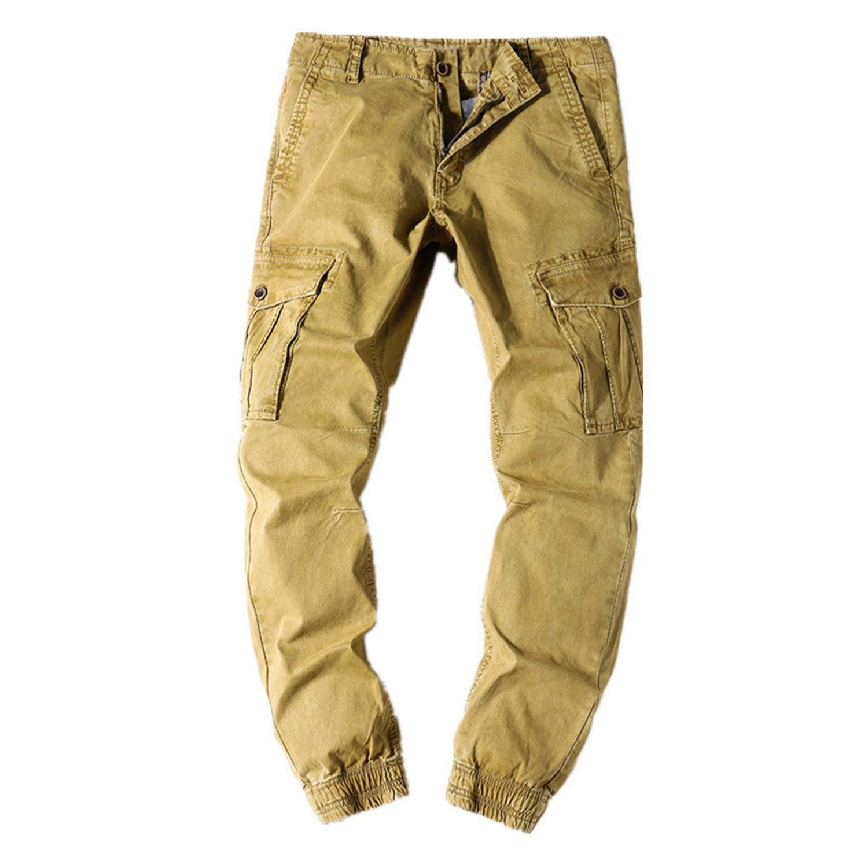 2bbc66fa0d Get Quotations · Processes 2018 New Arrival Men Cargo Pants S Fashion  Military Mens Cargo Pants Quality Cotton Casual