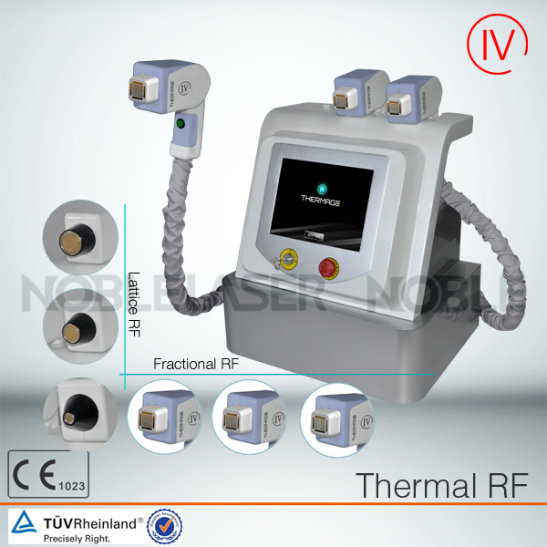 portable Fractional RF and Therma technology skin care device
