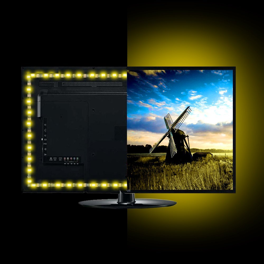 Besides Customize Your Monitor TV Or Furniture With Colorful LED Highlighting Color To Fit Mood Multi RGB Light Strip