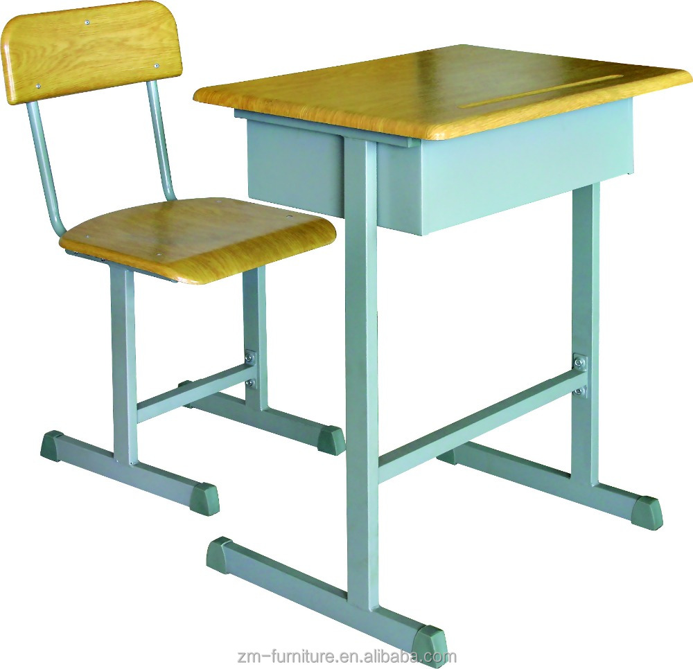 Wood Classroom Furniture Desk Chairs
