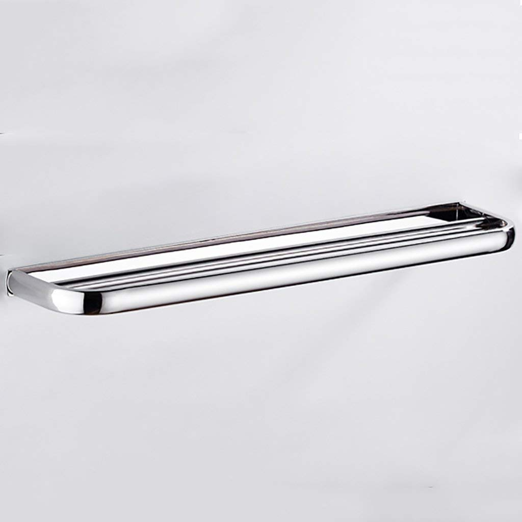 EQEQ 304 Stainless Steel Free Towel Holder Double Punch Towel Hangers Towel Bar Bath Rooms
