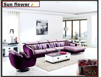 high quality living room fabric wooden sofa furniture