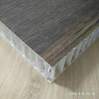 large size flooring of plastic honeycomb structural in woodgrain pattern lightweight strong prefab
