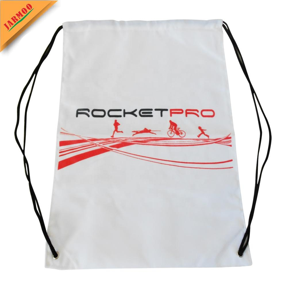 Luxury Club Cotton Draw String Bag With Logo