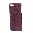 Custom Luxury Crocodile Leather Protective phone case