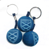 EVA foam printed logo ball shape floating key chain