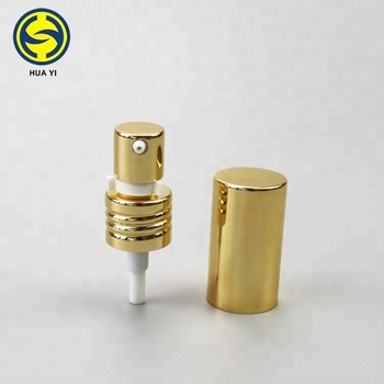 Screw cosmetic treatment pump 20 / 410 with cap