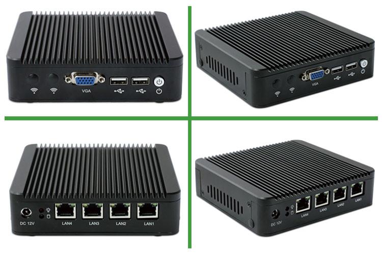 Opnsense Fanless Router Linux Mini Pc 4 Nic Firewall Barebone - Buy Mini Pc  4 Nic,Firewall Barebone,Linux Mini Pc Product on Alibaba com