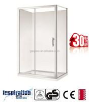 BF128 Australian standard glass corner shower enclosure 1200mm*800mm*1850mm
