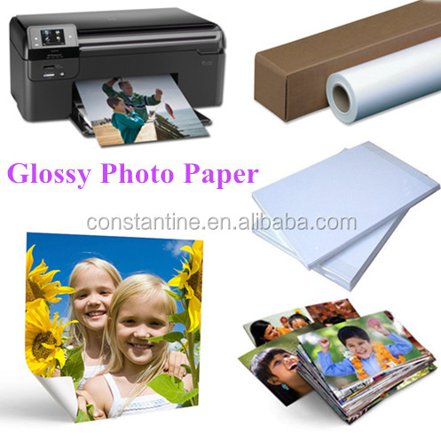 everyday use 115g-260g glossy photo paper a4/roll wholesale paper factory in china