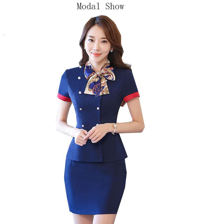 Sexy air hostess uniform