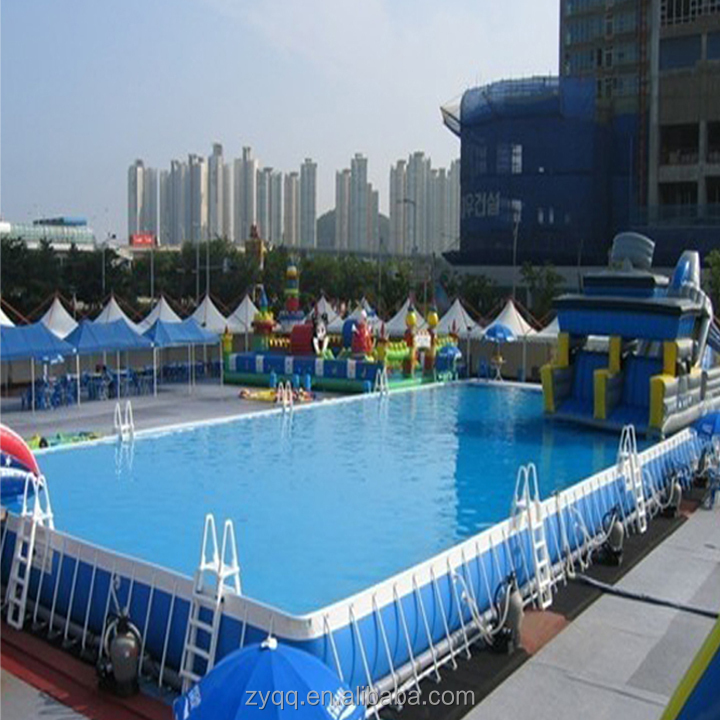 Having a unique style of Water Park Metal Frame Swimming Pool