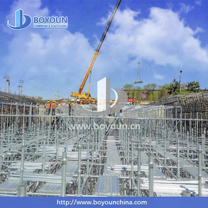 Used for construction, maintenance and repair of buildings, bridges staging scaffolding