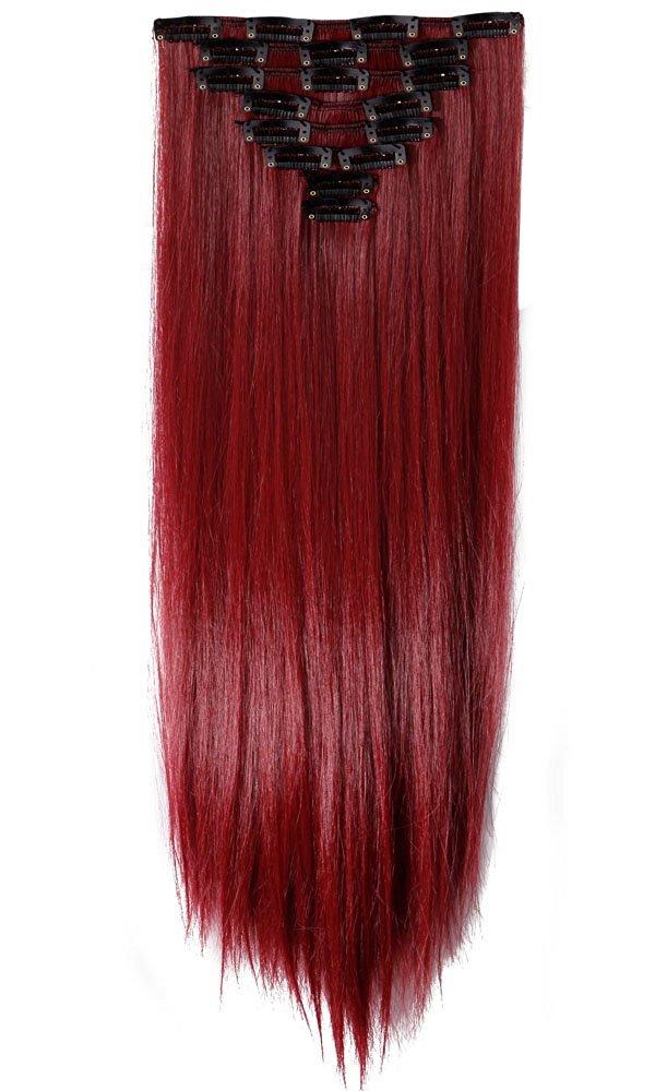 Buy S Noilite 17 26 Inches43 66cm 8pcs Long Full Head Clip In Hair